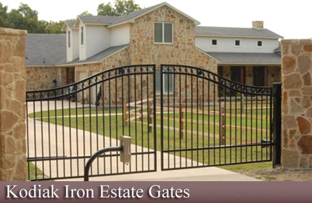 Denali Double Estate Gate