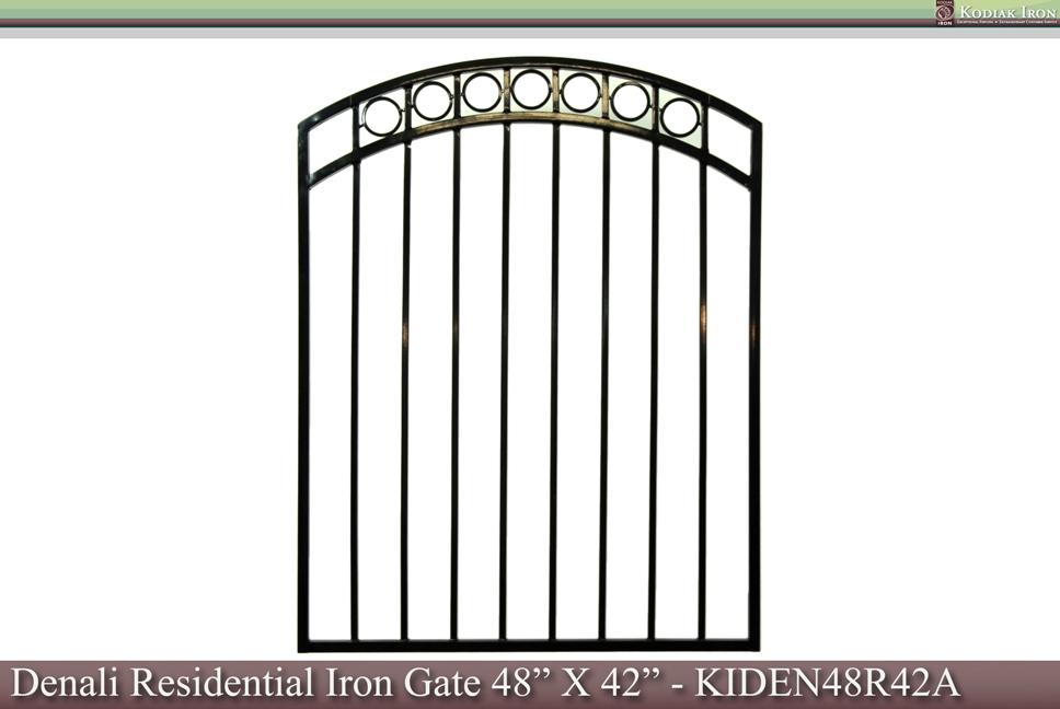 Kodiak Iron - Galvanized Iron Fence Panel - Denali