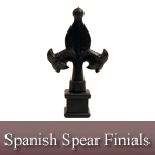 Spanish Spear Finials