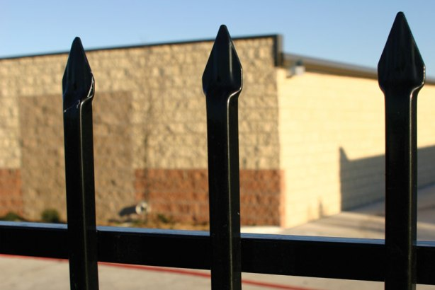 Denali Residential Galvanized Iron Fence Panel