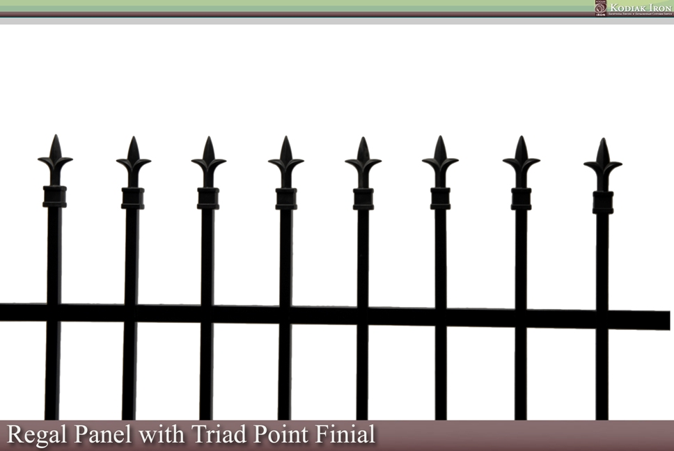 Triad Point Finial