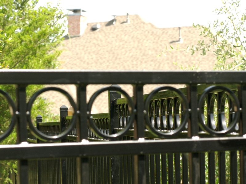 Denali Residential Galvanized Iron Gate